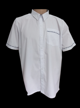 Boy shirt SS with piping