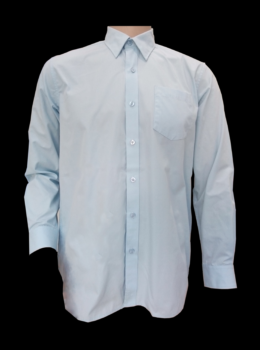 boy shirt LS sky blue color