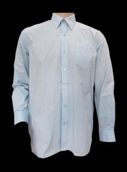 boy shirt LS sky blue color