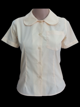 peter pan blouse SS lemon color