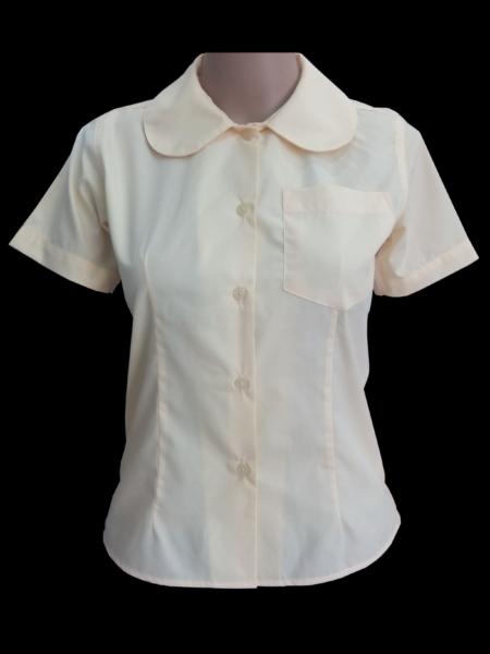 peter pan blouse SS lemon color